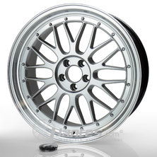 Jante Alu JAPAN RACING JR23 Hyper silver de 16 pouces