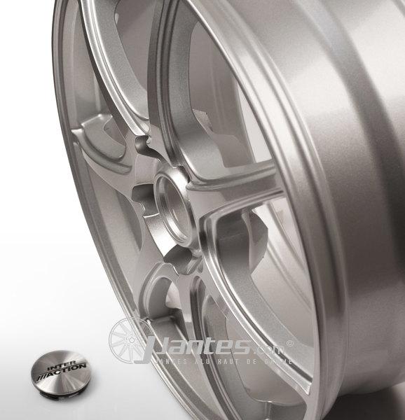 jante en aluminium 14 pouces inter action silver. Black Bedroom Furniture Sets. Home Design Ideas