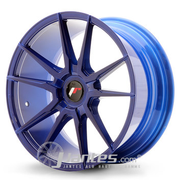 Jante Alu JAPAN RACING JR21 Blue de 18 pouces